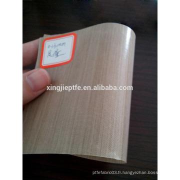 Derniers produits tissu en fibre de verre recouvert de ptfe unilatéral