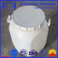 Désinfectant stabilisé au dioxyde de chlore dans l'aquaculture