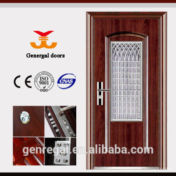 ISO9001 Stainless Steel Grid House Entry Doors
