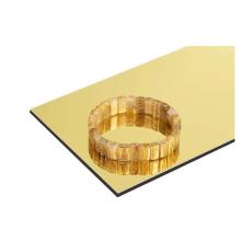 Spiegel fertig ACP / Acm-Panel / Aluminium-Verbundplatte für die Innendekoration