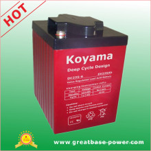 AGM Deep Cycle Battery 225ah 6V