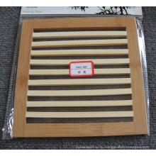 (BC-M1008) Handmade естественная бамбуковая квадратная изоляция жары