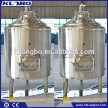 steam heating mash tank