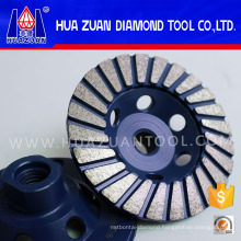 "4*5/8-11"" Snail Lock Grinding Wheels"