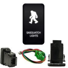 White Sasquatch Light Push Switch for Toyota Fj Cruiser Tacoma 4runner 2007-2009