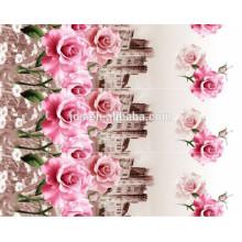 Хорошее качество и цена на полиэфирную пигментную ткань, трехмерную дисперсную ткань для печати