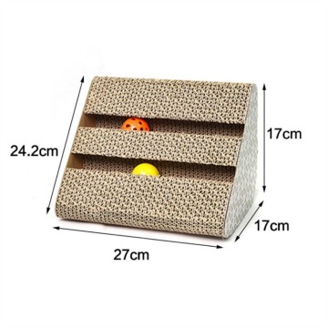triangle shaped Cat Scratching post toys
