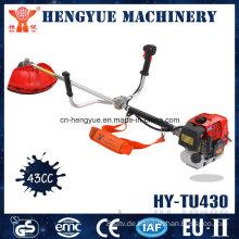 Motor-Freischneider mit Metallklinge oder Nylonschneider