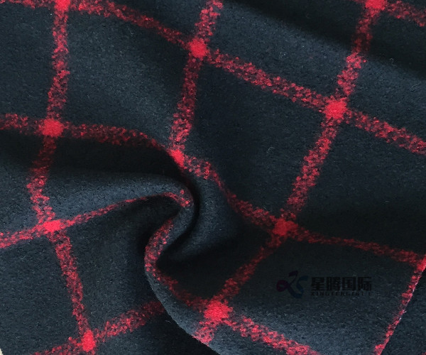 Wool Nylon Blend Fabric For Coat