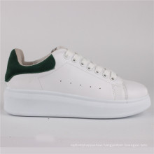 Women Shoes PU Injection Leather Shoes Casual Shoes Snc-65005wht