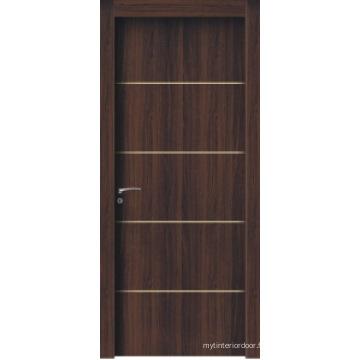 Porte composite en plastique et bois de haute qualité et prix compétitif
