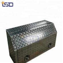 Полезные алюминиевые ящики для инструментов грузовика поставки трактора