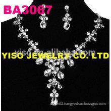 costume wedding jewelry set