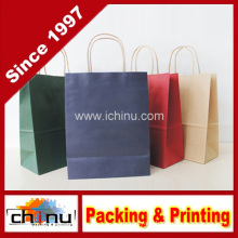 Kraft Paper Bag in Store, Spot Goods (2132)