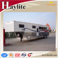 High quality deluxe horse trailer made in china High quality deluxe horse trailer made in china