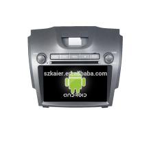 Quad core! Dvd do carro com link espelho / DVR / TPMS / OBD2 para 8 polegada tela sensível ao toque quad core 4.4 Android sistema CHEVROLET S10 / D-MAX