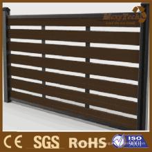 Panel de madera de la cerca de madera, nueva promoción de la cerca de Foshan