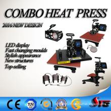 Machine de transfert de chaleur multifonction vente chaude