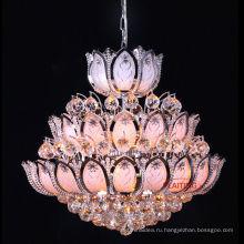 плакировка золота небольшая люстра для столовой украшения хрустальная люстра освещение
