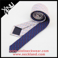 Two Different Designs Floral Silk Tie for Individual Buyer