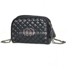 Fashion PU Lady Bag with Two Layers