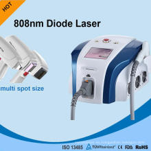 Portátil de 600 W Power 808nm Diode Laser Hair Quitar