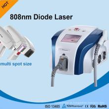 Máquinas alemãs aprovadas médicas do laser da remoção do cabelo do laser do diodo do profissional 810nm da tecnologia de Apolomed Ce