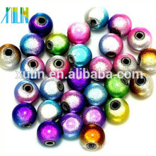 alibaba stock cheap price acrylic round multicolored miracle beads