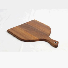Customized for Wood Cutting Board Acacia Wood Paddle-shaped Pizza board supply to Cyprus Factory
