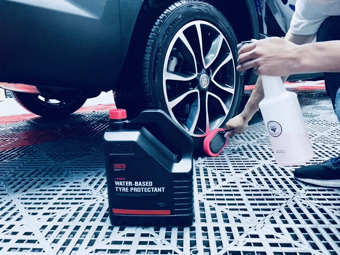 water-based tyre protectant