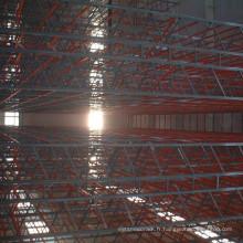 Système de stockage de couleur de série de RAL du support en acier résistant de VNA