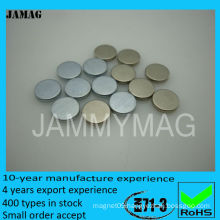 D8H2 small thin round magnets