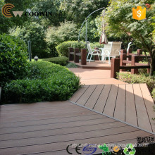 Cheap prefab building materials for sale-WPC Ribbed Decking Floor
