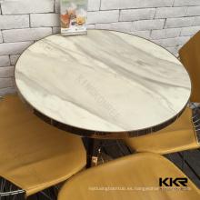 superficie sólida mesa de té / mesa de café / mesa de comedor