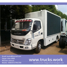 Foton Aumark Mobile Outdoor LED Advertising Truck