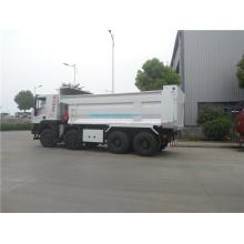 Nouveau camion de fumier 8x4 avec couvercle de conteneur