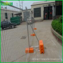 Panneaux de clôture en fil soudé à clôture temporaire