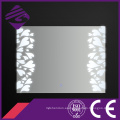 Jnh224 2016 nuevo diseño de lujo decorativo pared baño espejo LED