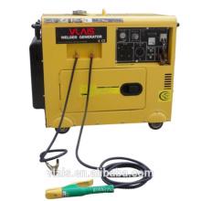 5KW welding generator with Heavy duty lead welding cable