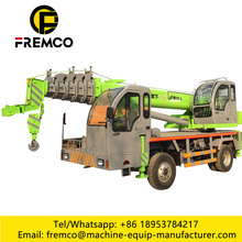 Small 8 Ton Truck Mounted Crane