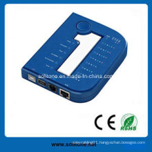 Cable Tester for RJ45/Rj11/USB/1394 Cable, New Style