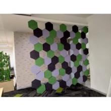 panel de espuma acústica de fieltro de tela