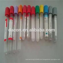 Gel Blutgerinnsel Aktivator Vakuum Blutentnahmeröhrchen