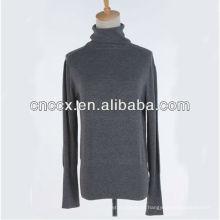 PK17ST257 senhoras algodão malha pullover camisola padrão