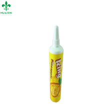 10ml small foods tube fruit container plastic pipe tube