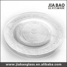 Placa de banquete de vidrio placa de boda (GB2302ZZ)