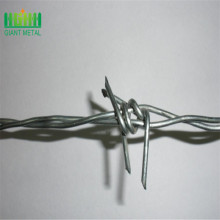 Galvanized+barded+wire+fence