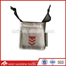 Joya de microfibra impresa personalizada bolsa pequeña bolsa