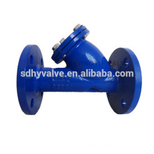 filtro de brida extremo DN50-DN1400 hierro fundido pintura
