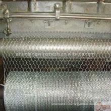 Malla de alambre hexagonal revestido del PVC (fábrica)